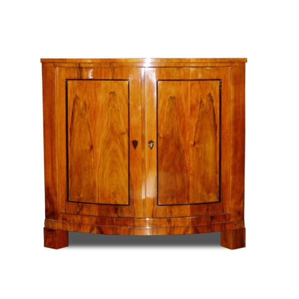 ANTIK SHOP Biedermeier Stil, um 0 Kirschbaum bzw. Nußbaum, hochglänzend lackiert B: 91 cm T: 64 cm H: 86 cm