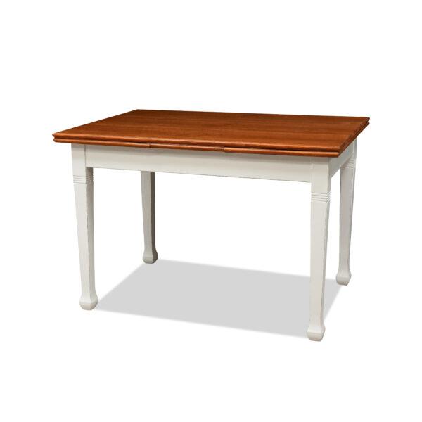 ANTIK SHOP Jugendstil Tisch Jugendstil, um 1900 Eiche, Shabby Chic B: 115 cm T: 78 cm H: 78 cm ausziehbarer Jugendstiltisch aus Eiche.