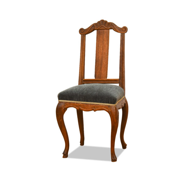 ANTIK SHOP Barock Stuhl Barock, um 1740 Eiche, biologisch gewachst B: 48 cm T: 48 cm H: 102 cm Barock Stuhl aus Eiche.