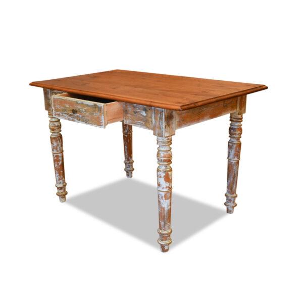 ANTIK SHOP Gründerzeit Tisch Gründerzeit, um 1880 Erle, Shabby Chic B: 120 cm T: 72 cm H: 76 cm Gründezeittisch aus Erle.