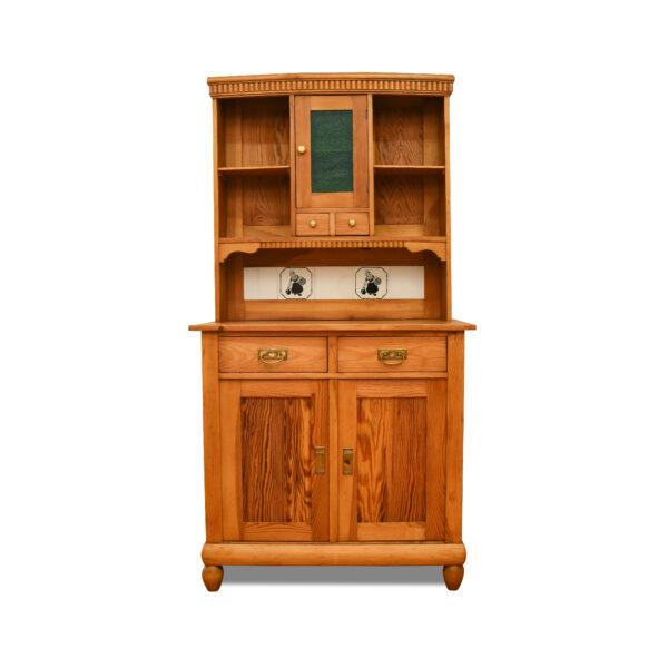 ANTIK SHOP Art Deco Buffet Art Deco, um 1920 Kiefer, biologisch gewachst B: 98 cm T: 58 cm H: 188 cm