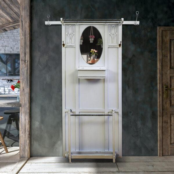 ANTIK SHOP Jugendstil Garderobe Eiche Shabby Chic um 1900 online kaufen
