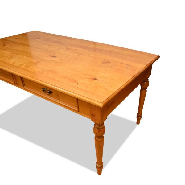 ANTIK SHOP Tisch Gründerzeit Stil Gründerzeit, um 1900 Kiefer, biologisch gewachst B: 200 cm T: 100 cm H: 79 cm aus Altholz traditionell gefertigt.