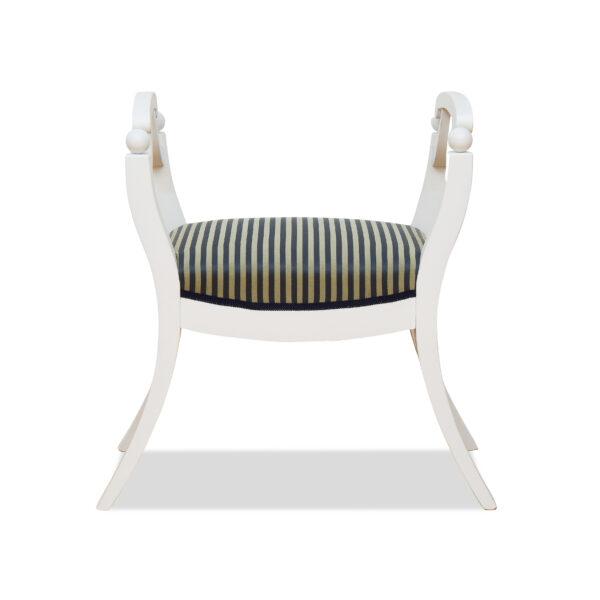 ANTIK SHOP Biedermeier Stil Sitzgondel Biedermeier Stil, um 1900 Fichte, Shabby Chic B: 58 cm T: 40 cm H: 71 cm Nach Originalvorbild traditionell gefertigte Biedermeier Sitzgondel in Shabby Chic.