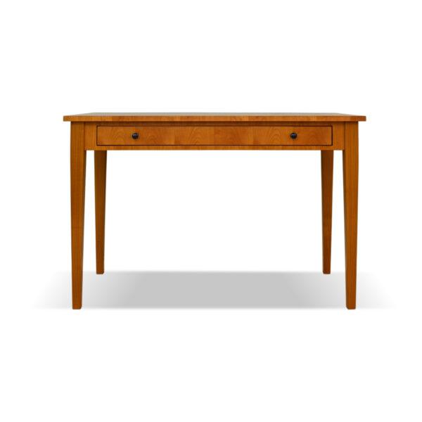 ANTIK SHOP Biedermeier Tisch Biedermeier Stil, um 1900 Kirschbaum bzw. Nussbaum, mattiert B: 100 cm T: 60 cm H: 80 cm Traditionell gefertigter Tisch aus Kirschbaum oder Nußbaum.