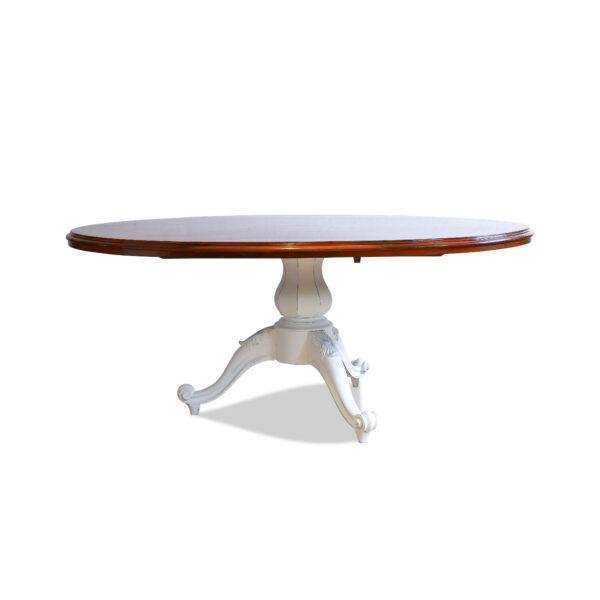 ANTIK SHOP Tisch, Louis Philippe um 1870, Nussbaum, Shabby Chic