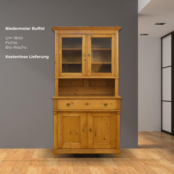ANTIK SHOP Biedermeier Buffet, Fichte, um 1840 online kaufen